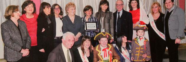 All'Associazione Donne & Riso – Premio Bela Majin 2015