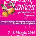 Frutti Antichi Primavera – II ed. 7 – 8 maggio 2016