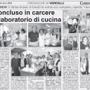 Laboratorio di cucina con le detenute del carcere di Vercelli